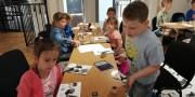 Wycieczka klas pierwszych do Muzeum Drukarstwa